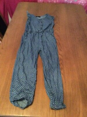 Girls 4 To 5 Years Jumpsuit