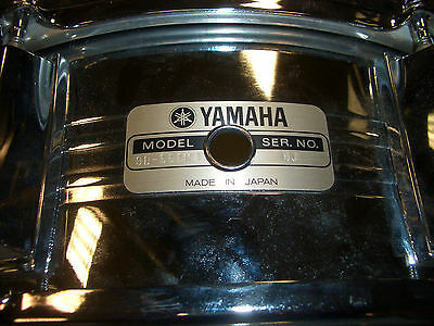 "Yamaha SD550MD Snare Drum 14"" ! Vintage ! Second Hand ! Made in Japan !"