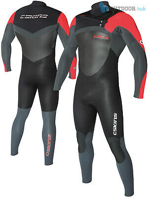 C-Skins Legend 3/2mm Mens Front Zip Wetsuit Full Length Steamer Surf