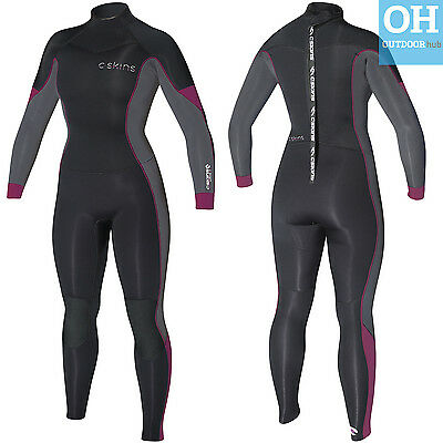 C-Skins 5/4mm Solace Ladies Wetsuit Womens Full Length Steamer Surf Winter