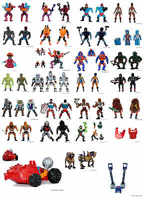 MOTU_Collection - Masters of the Universe - Mattel - 1983