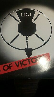 LINTON KWESI JOHNSON - Forces of Victory - 1979 Reissue Vinyl LP  - Island ILPM