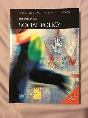 Introducing Social Policy 2004 Revised Edition RRP £26.99