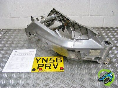 Look Aprilia Rs125 Rs 125 2007 Main Frame + Plate + Hpi Report *free Uk Post*