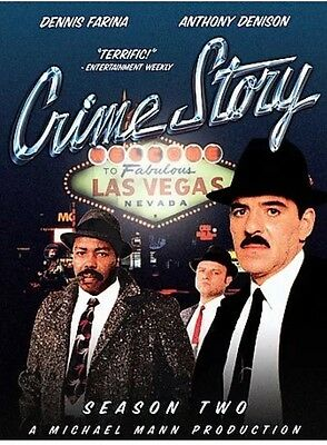 Crime Story - Season two  2 (DVD, 2005, 4-Disc Set) brand new Free Shipping