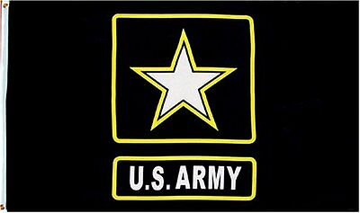 Licensed US Army New Design Full Size 3x5 Military Flag.