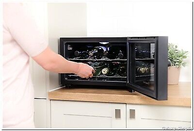 Wine Bottle Cooler Fridge Beer Bar Drinks Chiller Small Electric Kitchen Home S