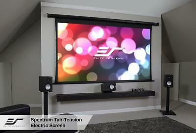 """Elite Screens ELECTRIC100HT Spectrum Tab-Tension Series 100"""" Projection Screen"""