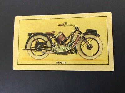 Motor Cycles - Scott Standard Model - Issued By D C Thomson In Wizard Comic 1930