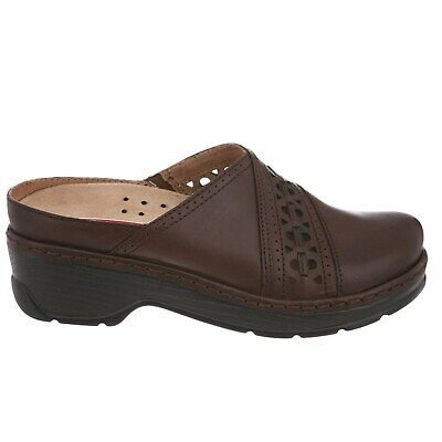 Klogs Shelby Womens Clog Shoes Display Model Coffee Smooth 6.5 M