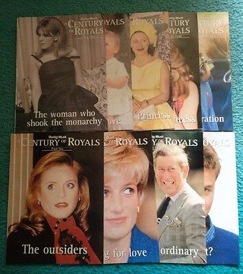 A Century Of Royals - Daily Mail Publication - Parts 1,2,3,4,5,6,8,9 & 10