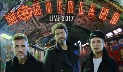 Take That Wonderland Tour Tickets