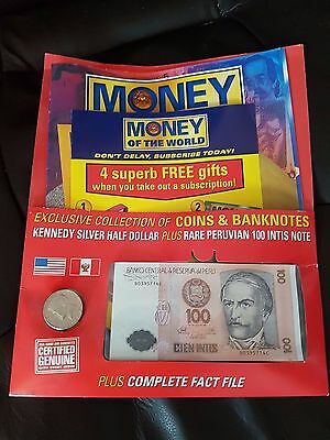Money Of The World Magazine Coin & Note