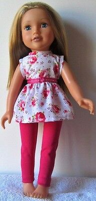 DOLLS CLOTHES to fit DESIGNAFRIEND - MINI DRESS AND LEGGINGS