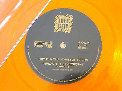 "Honey Drippers Impeach The President 12 "" Vinyl  - Mint Unplayed"
