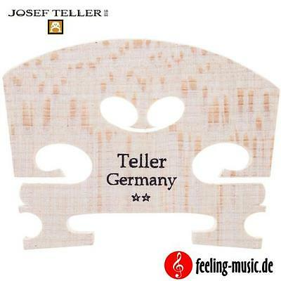 Josef Teller - Viola-Steg für 4/4 Mensur - Made in Germany