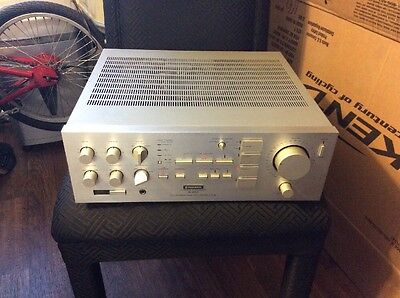 Vintage Pioneer Stereo Amplifier A-90 Dynamic Power Silver Face Very Rare