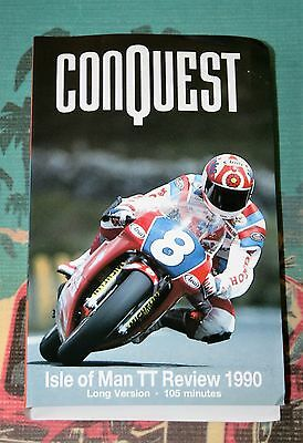 Conquest - Isle of Man 1990 TT Review - VHS Motorcycle Video