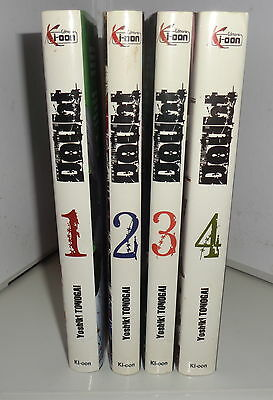 manga DOUBT Serie complete en  4 tomes VF