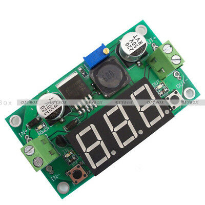 LM2596 DC-DC Buck Step Down Converter Module Voltage Regulator w/ Led Voltmeter