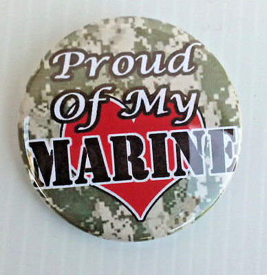 United States Marine Corp * Buttons * Mirrors * Magnets *  Oorah Usmc Semper Fi