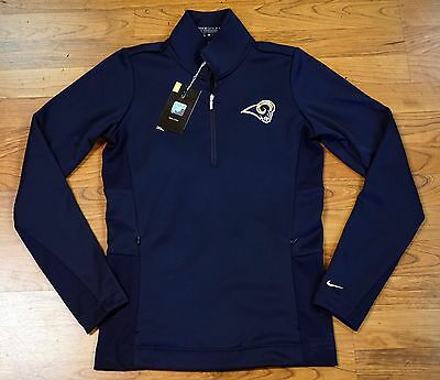 Nike Golf NFL Los Angeles LA Rams Therma Fit Logo Women's Pullover Jacket M
