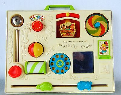 Vintage Fisher Price Musical Activity Center - Baby Toy - 134