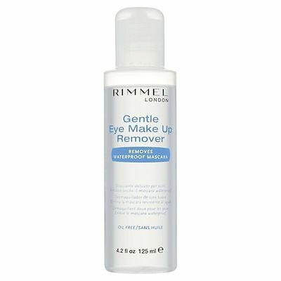 Rimmel London Gentle Eye Make up Remover Removes Waterproof Mascara 125ml