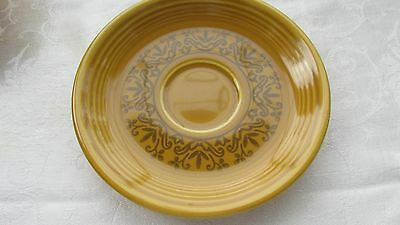 "H Laughlin Fiesta Coventry Casualstone Gold 6"" Saucer (14 Available)"