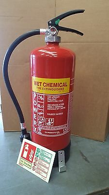 6 ltr Wet Chemical Fire Extinguisher