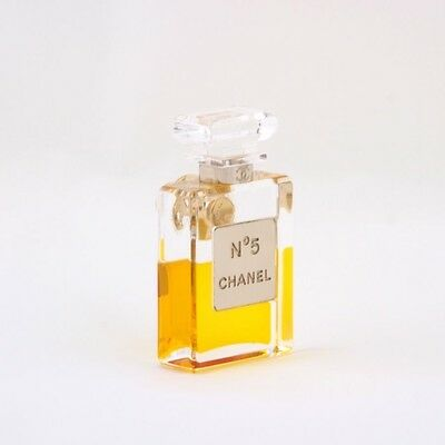 New Auth Chanel cc N5 perfume bottle brooch pin.