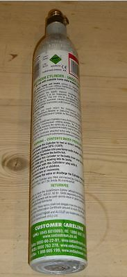 SODASTREAM spare 425g CO2 bottle cylinder makes 60l of fizzy water