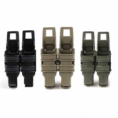 Tactical Fast Mag Pistol Magazine Pouch MOLLE/P.A.L.S Attach System Set