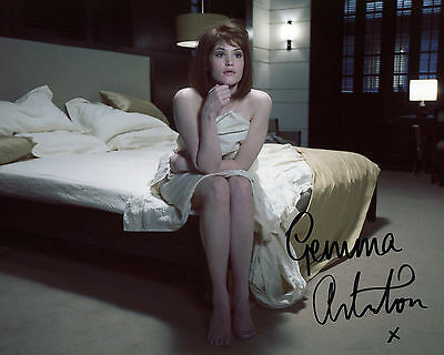 Gemma Arterton - Strawberry Fields - Quantum of Solace -Signed Autograph REPRINT
