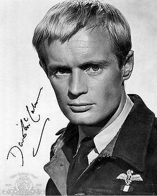 David McCallum - Ashley-Pitt - The Great Escape - Signed Autograph REPRINT