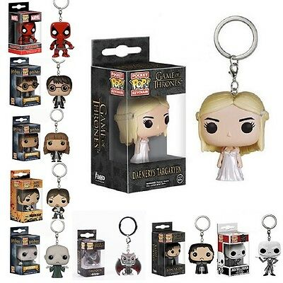 Funko Pocket Pop Game Of Thrones Harry Potter Doctor Who Keychain
