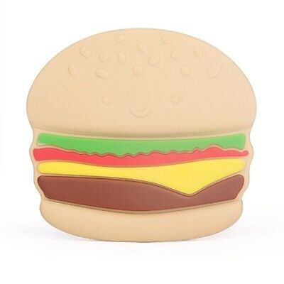 Baby Teether Hamburger Baby Toys For Swollen Gums And Growing Teeth