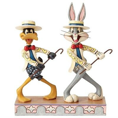 NEW OFFICIAL Looney Tunes by Jim Shore Bugs Bunny and Daffy Duck Figure 4055775