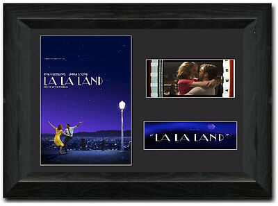 La La Land 35 mm Framed Film Cell Display Stunning Collectible Ryan Gosling Emma