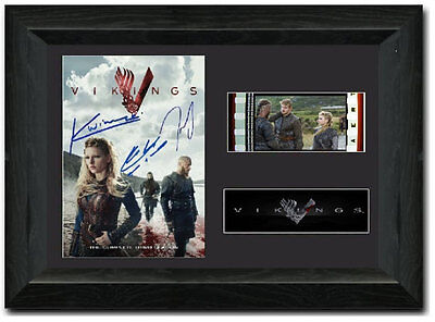 Vikings 35 mm Film Cell Display Stunning Signed Floki