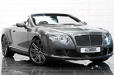 2013 Bentley Continental GTC 6.0 W12 Speed Auto Petrol grey Automatic