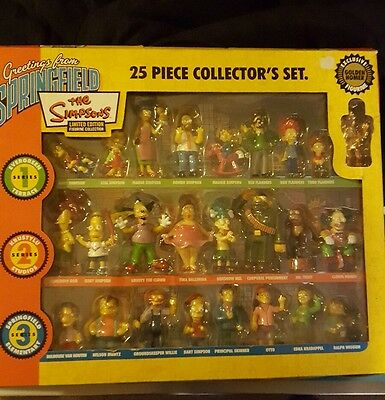 simpsons collectors edition with golden homer