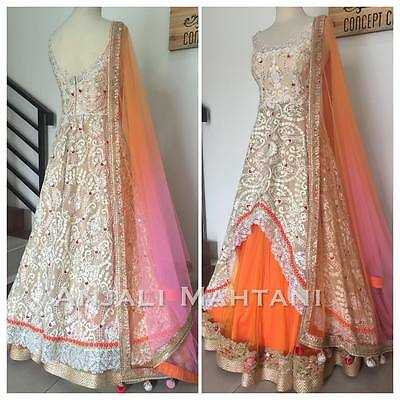 Indian Pakistani Ethnic Gown Designer Gown Bollywood Dress