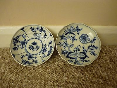 Two Meissen Bowls, both with crossed swords marks