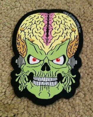 Mars Attacks Trooper Fabric Iron On Embroidered Patch Cult Nerd ZBOX Lootcrate