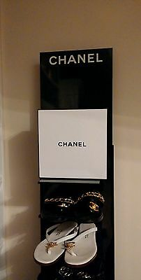 made for Chanel Store display square box sign handbag bottle dummy factice shoe