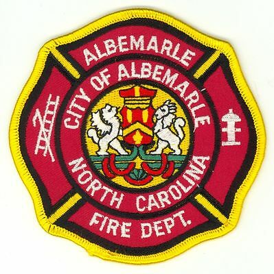 AFD City of Albemarle Fire Department Uniform Patch North Carolina NC