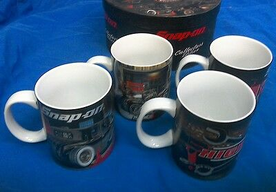 New Snap On coffee mug set