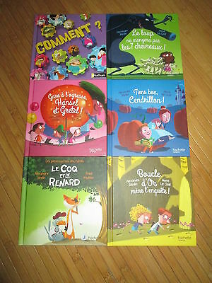 Lot 6 Livres Happy Meal Mc Donald's Editions Nathan,NEUFS!