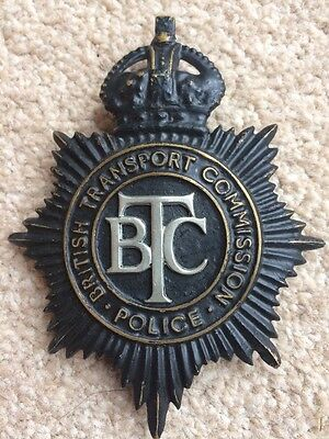 British Transport Commission Police Helmet Plate